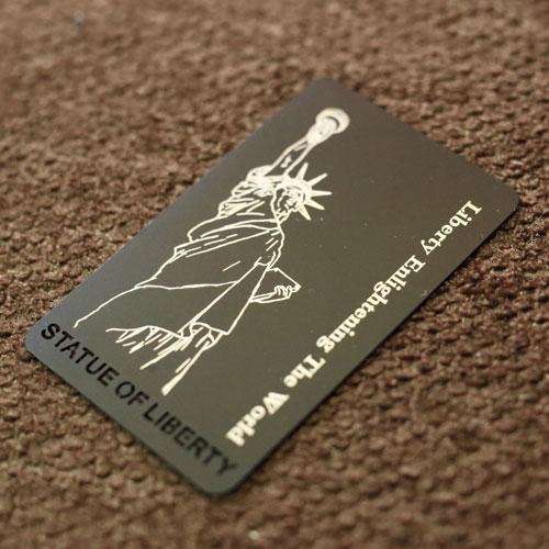 Custom metal business cards andoized aluminium metal vip card colourmoves